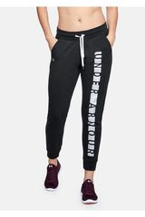Under Armour Negro /gris de Mujer modelo Favorite Fleece Pant Graphic Deportivo Pantalones