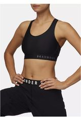 Top de Mujer Under Armour Negro /gris armour mid keyhole