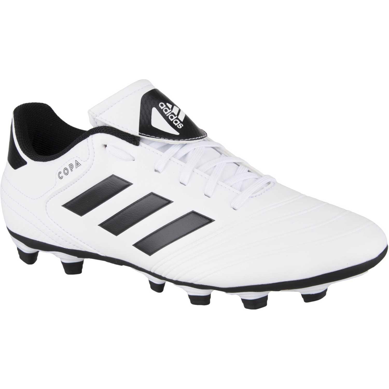 746cb61b Zapatilla de Hombre Adidas Blanco / negro copa 18.4 fxg | platanitos.com