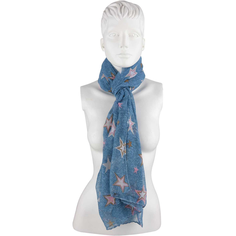 Bufanda de Mujer Platanitos Azul ylbl-a2182