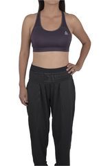 Reebok Gris Oscuro de Mujer modelo US SHORT BRA S Tops Deportivo