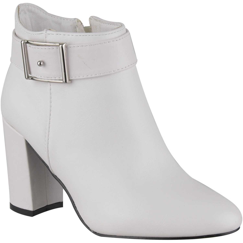 Botín de Mujer Platanitos Blanco bt-2581