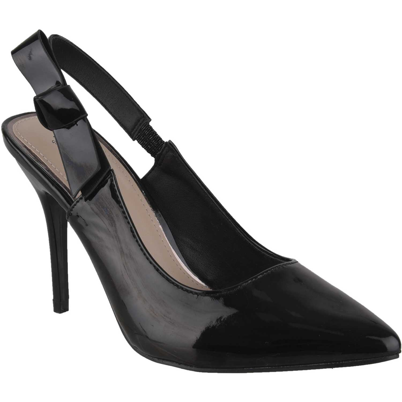 Calzado de Mujer Platanitos Negro cv 39