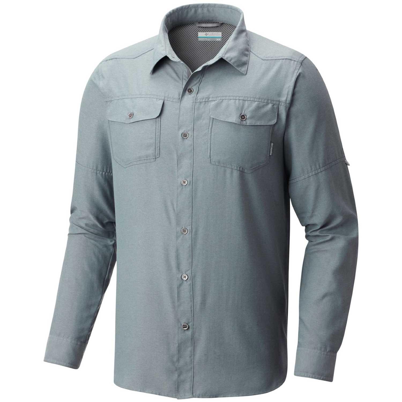 Camisa de Hombre Columbia Plomo pilsner peak ii long  3f71d45ea3c