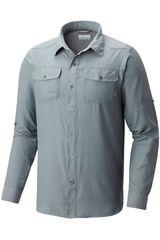 Columbia Plomo de Hombre modelo PILSNER PEAK II LONG Casual Camisas