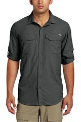 Columbia Plomo de Hombre modelo SILVER RIDGE LONG S Casual Camisas