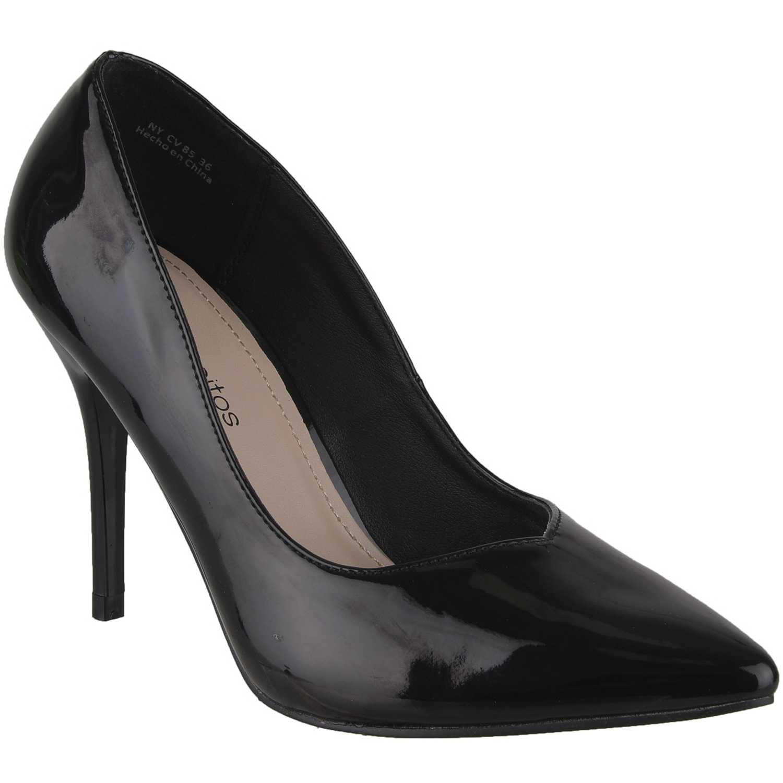 Calzado de Mujer Platanitos Negro cv 85