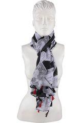Platanitos Negro de Mujer modelo 2741 Bufandas