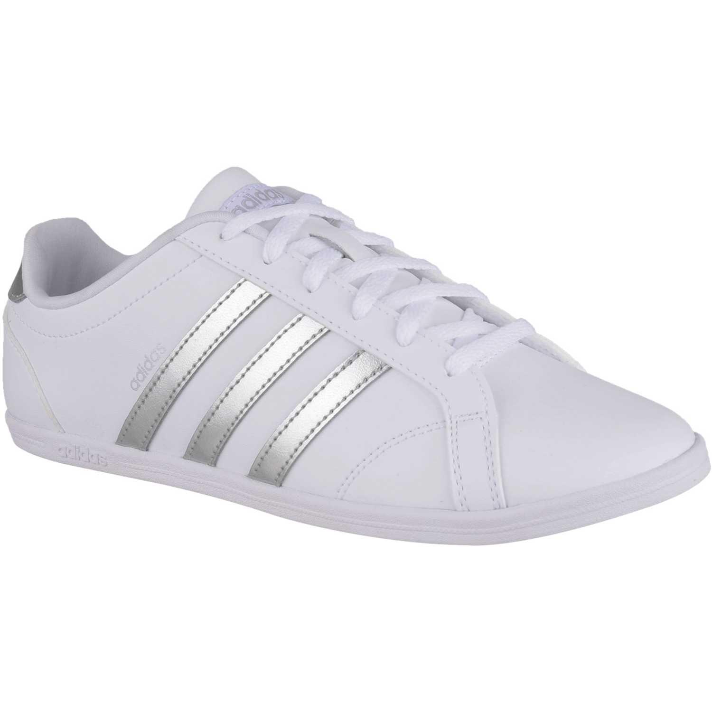 Zapatilla de Mujer adidas NEO Blanco / plateado coneo qt