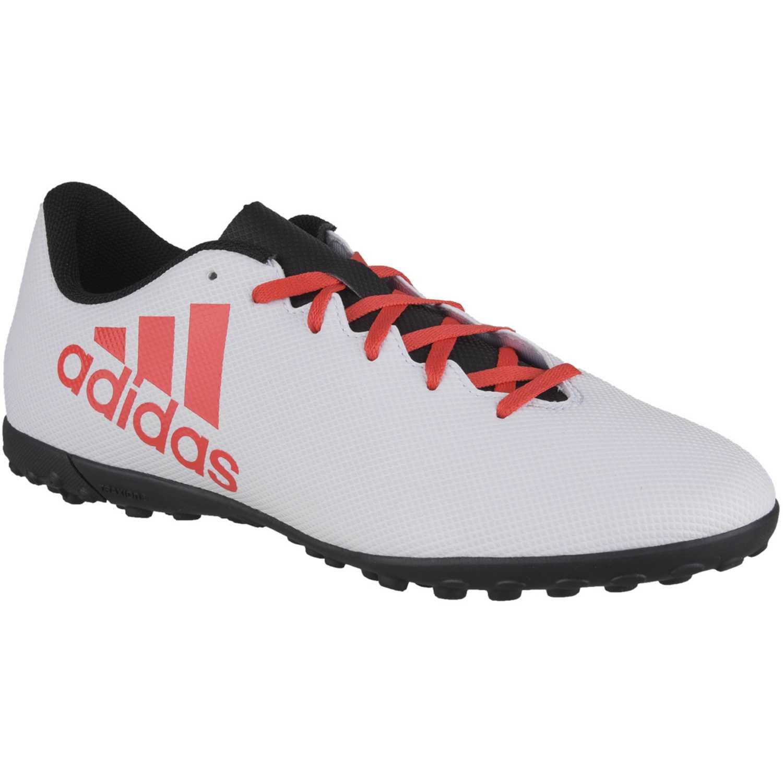Zapatilla de Hombre Adidas Blanco   rojo x tango 17.4 tf ... c3576dd163b96