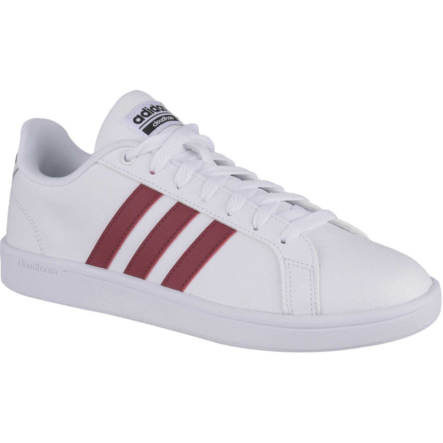 the latest ba57d d19b2 Zapatilla de Hombre adidas NEO Blanco  vino cf advantage