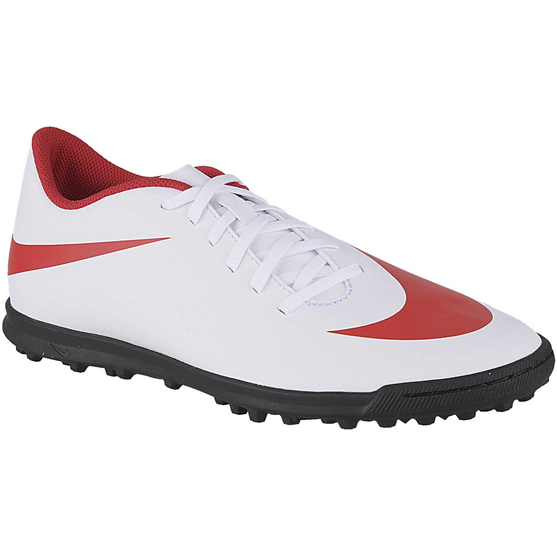 3ed71332598e9 Zapatilla de Hombre Nike Blanco   rojo nk bravatax ii tf ...
