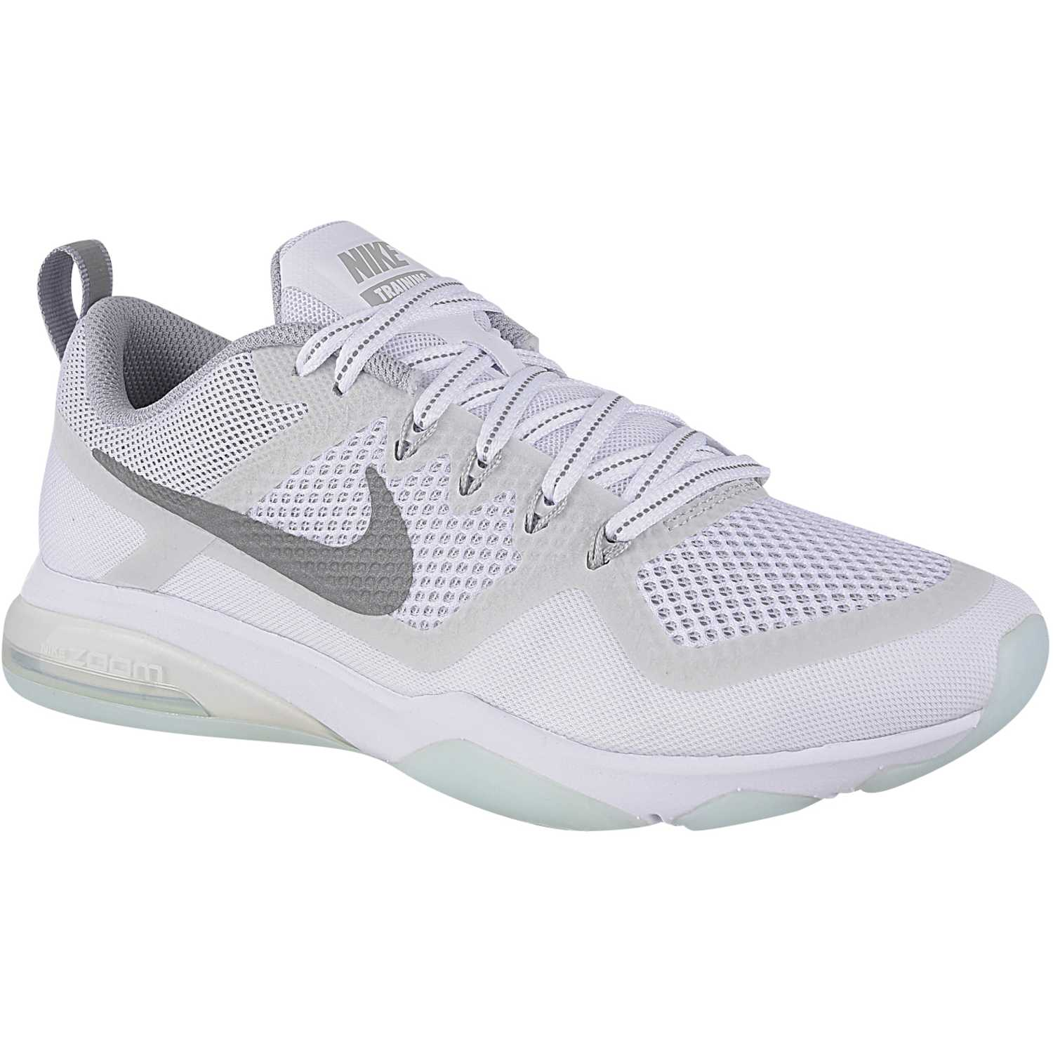 0c3475765ce2b Zapatilla de Mujer Nike Blanco   gris wmns air zoom fitness reflect ...