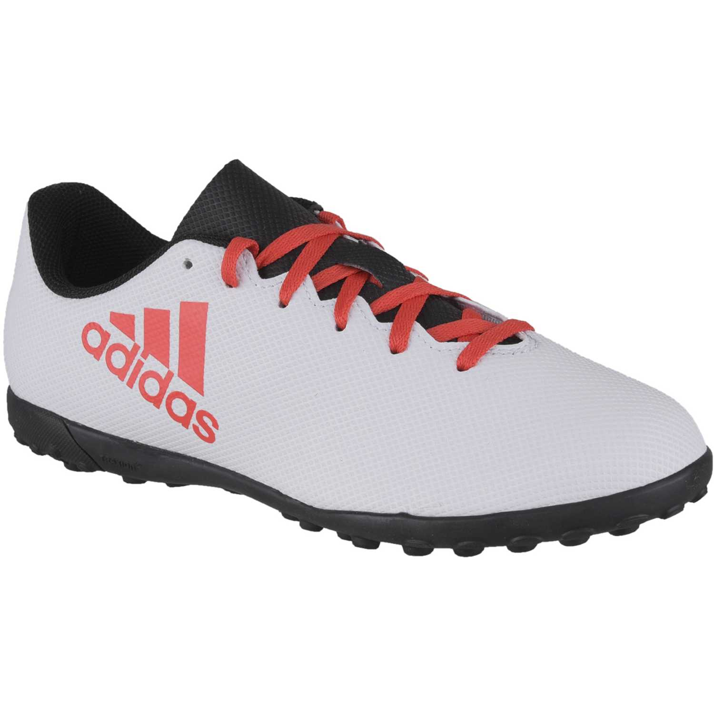 Zapatilla de Jovencito Adidas Blanco   rojo x tango 17.4 tf j ... a3bc6abe2543d
