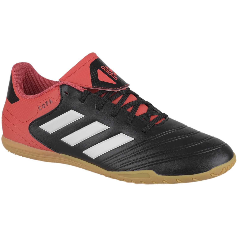 various colors 1827c 11046 Zapatilla de Hombre Adidas Negro   rojo copa tango 18.4 in