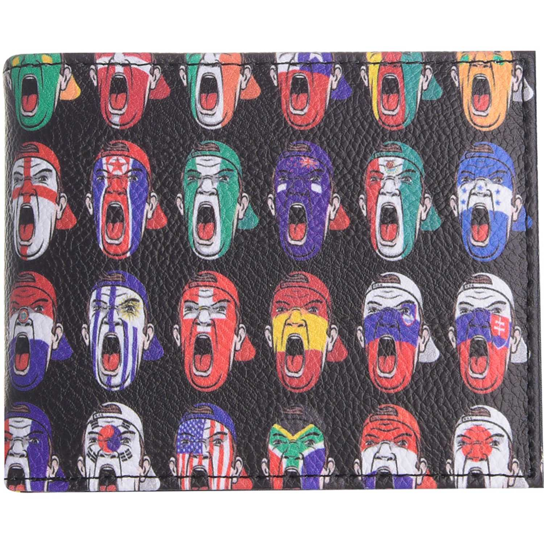 Billetera de Mujer Platanitos Negro dm-008