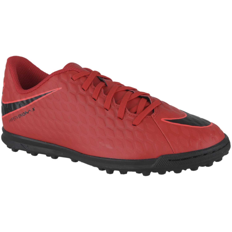 b3e0f7f2935ac Zapatilla de Jovencito Nike Rojo   negro jr hypervenomx phade iii tf ...