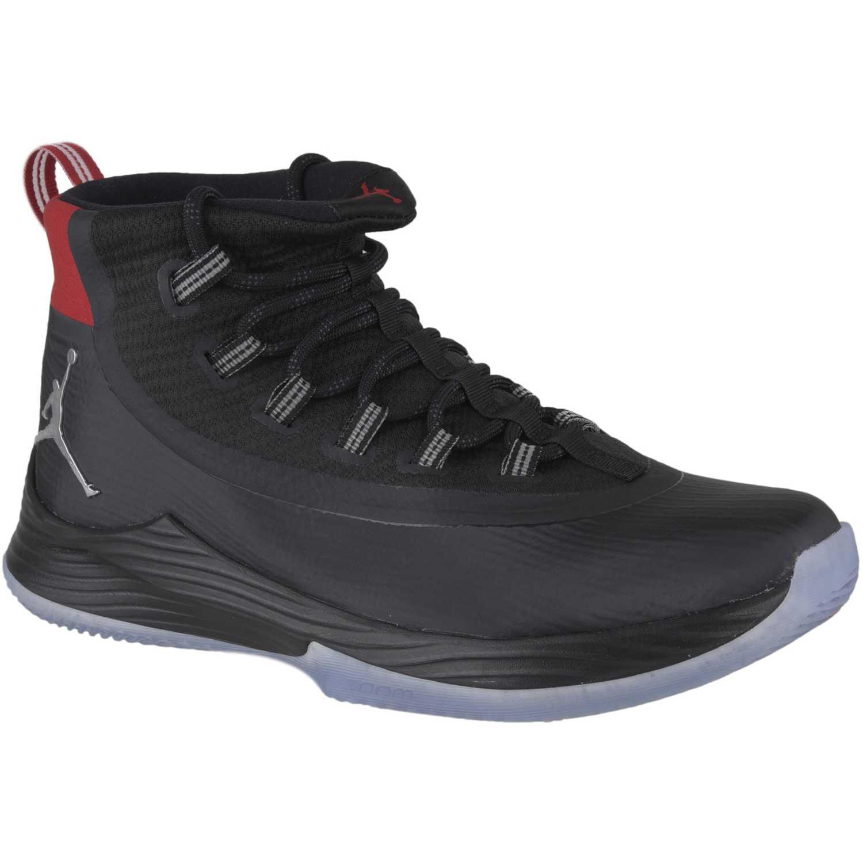 Zapatilla de Hombre Nike Negro / rojo jordan ultra fly 2