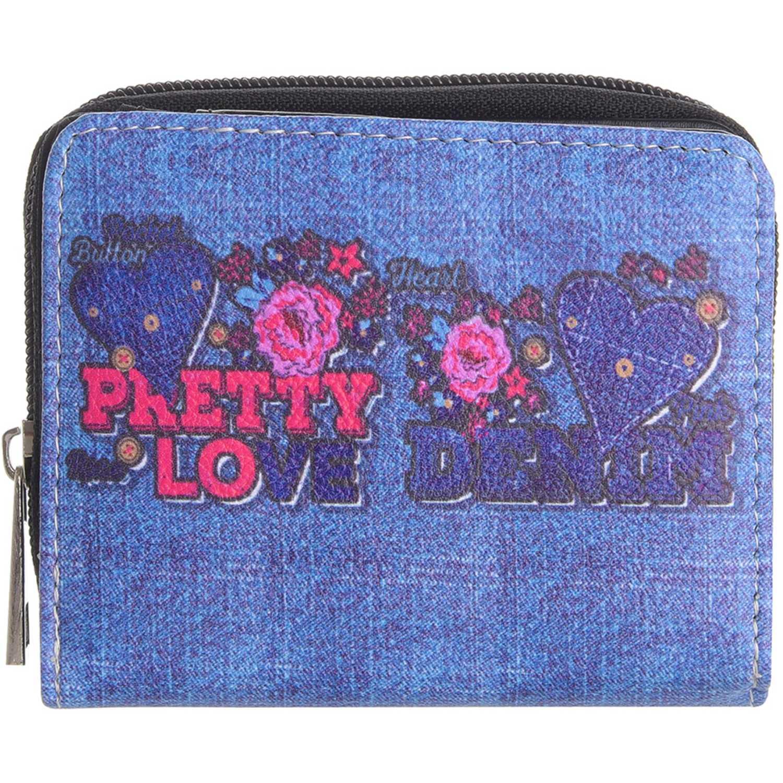 Monedero de Mujer Platanitos Azul ds145-1