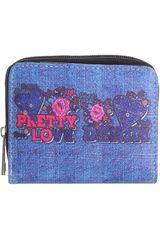 Platanitos Azul de Mujer modelo DS145-1 Casual Monederos