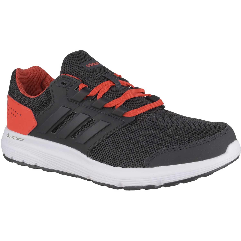 quality design f0afe df8db Zapatilla de Hombre Adidas Negro   rojo galaxy 4 m