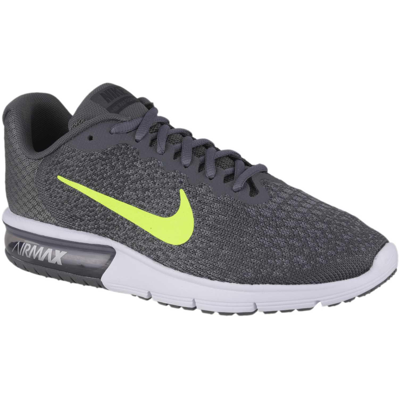 new styles 8721f 15d16 Zapatilla de Hombre Nike Negro   limón nk air max sequent 2