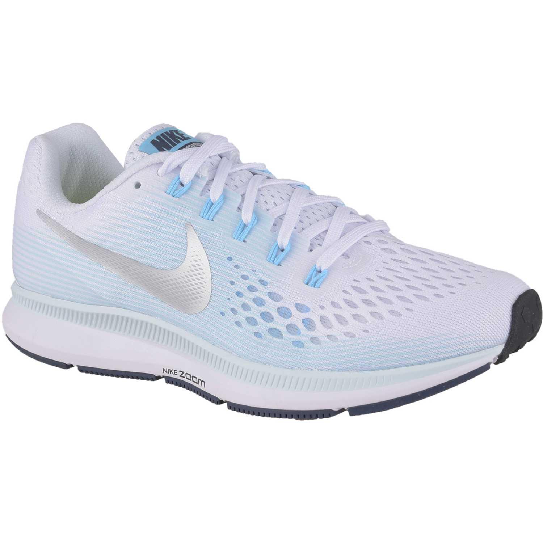 Zapatilla de Mujer Nike Celeste   blanco wmns nike air zoom pegasus ... 04fe01551246b