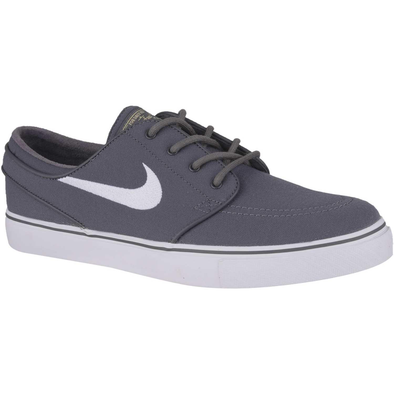 low priced 07526 182cd Zapatilla de Hombre Nike Gris / blanco zoom stefan janoski cnvs ...