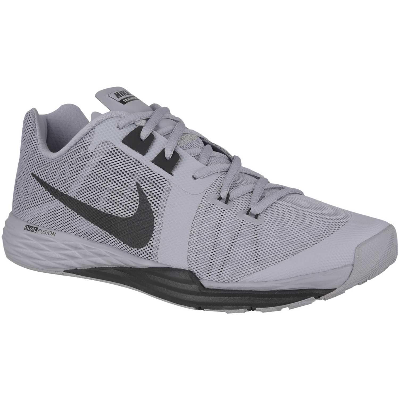02d18726fa Zapatilla de Hombre Nike Gris   negro train prime iron df ...