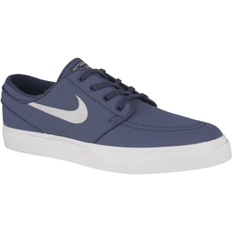 sports shoes 3d9fd 1166f Zapatilla de Hombre Nike Acero   blanco zoom stefan janoski cnvs