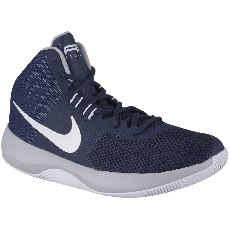 Zapatilla de Hombre Nike Azul / blanco nk air precision