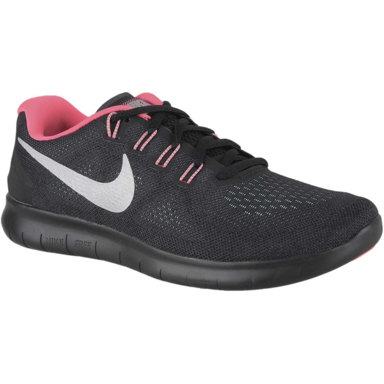 bd96563400770 Zapatilla de Mujer Nike Negro   rosado wmns nike free rn 2017 ...