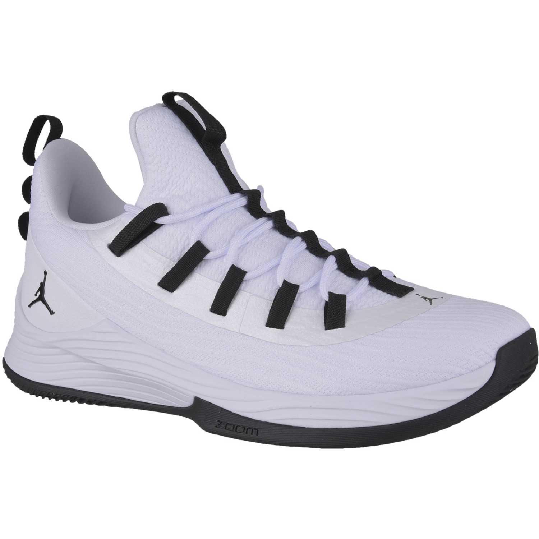 Zapatilla de Hombre Nike Blanco / negro jordan ultra fly 2 low