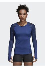 adidas Azul de Mujer modelo ASK SPR LS PR Deportivo Poleras
