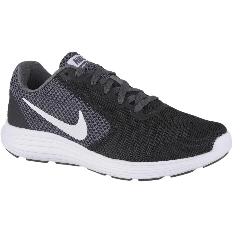quality design a5aa4 b4218 Zapatilla de Mujer Nike Negro   blanco wmns nike revolution 3
