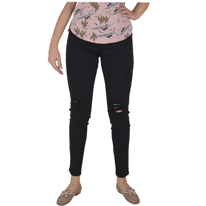 Jean de Mujer CUSTER NEG knee w