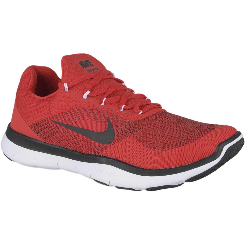 competitive price 666ca 9a11c Zapatilla de Hombre Nike Rojo   negro free trainer v7