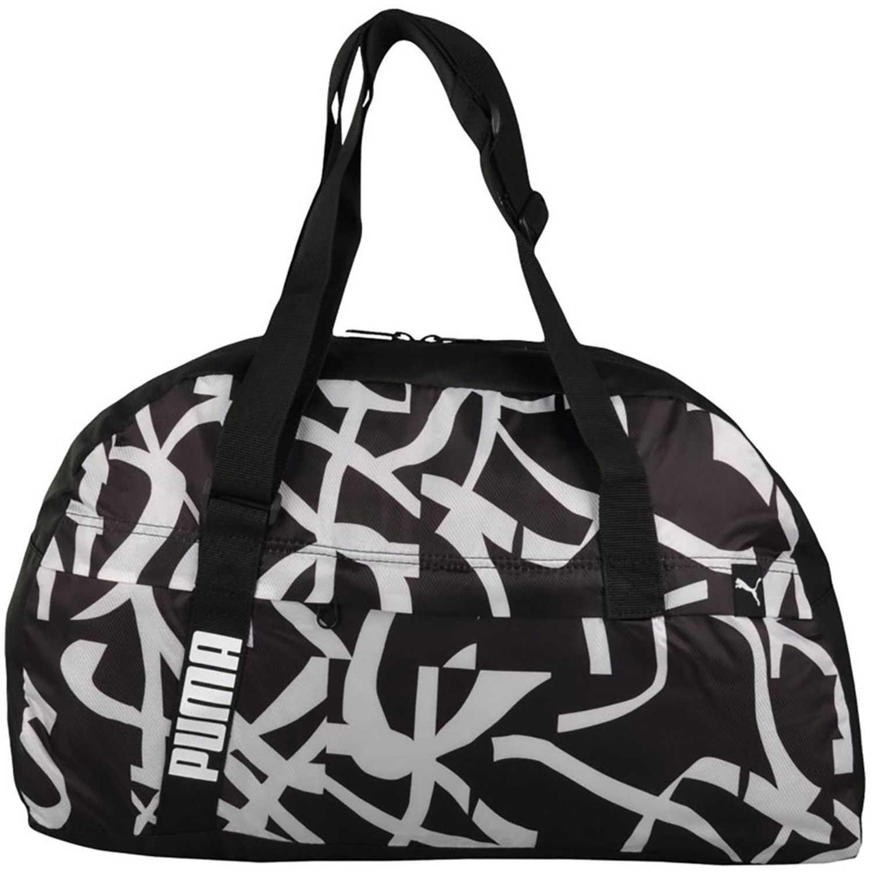 Bolso de Mujer Puma Negro   Blanco core active sportsbag m ... d2c6e0dda3022