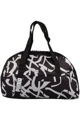 Puma Negro / Blanco de Mujer modelo Core Active Sportsbag M Bolsos Carteras