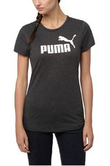 Puma Negro / Blanco de Mujer modelo ESS No.1 Tee Heather W Deportivo Polos