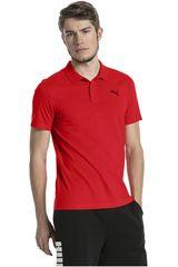 Puma Rojo de Hombre modelo ESS Jersey Polo Deportivo Polos