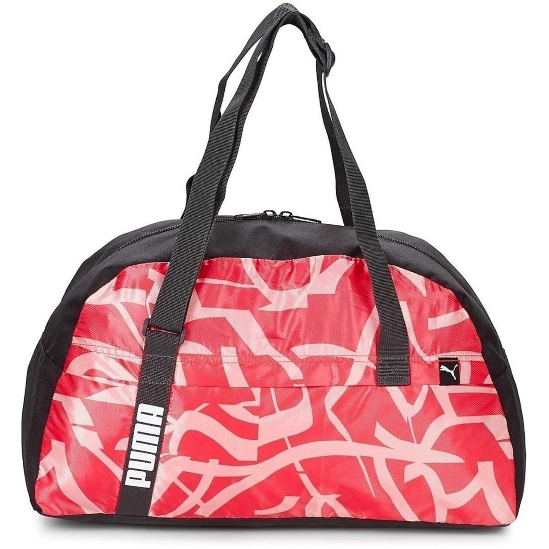 Bolso de Mujer Puma Rosado   Negro core active sportsbag m ... 87812fed42ec6