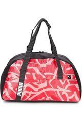 Puma Rosado / Negro de Mujer modelo Core Active Sportsbag M Bolsos Carteras