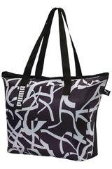 Puma Negro / Blanco de Mujer modelo Core Active Shopper Bolsos Carteras