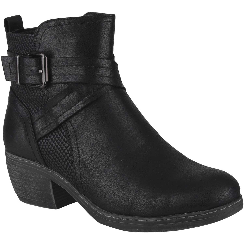 Botín de Mujer Platanitos Negro bt 5506