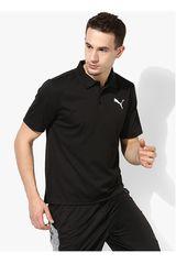 Puma Negro / Blanco de Hombre modelo ACTIVE Pique Polo Deportivo Polos
