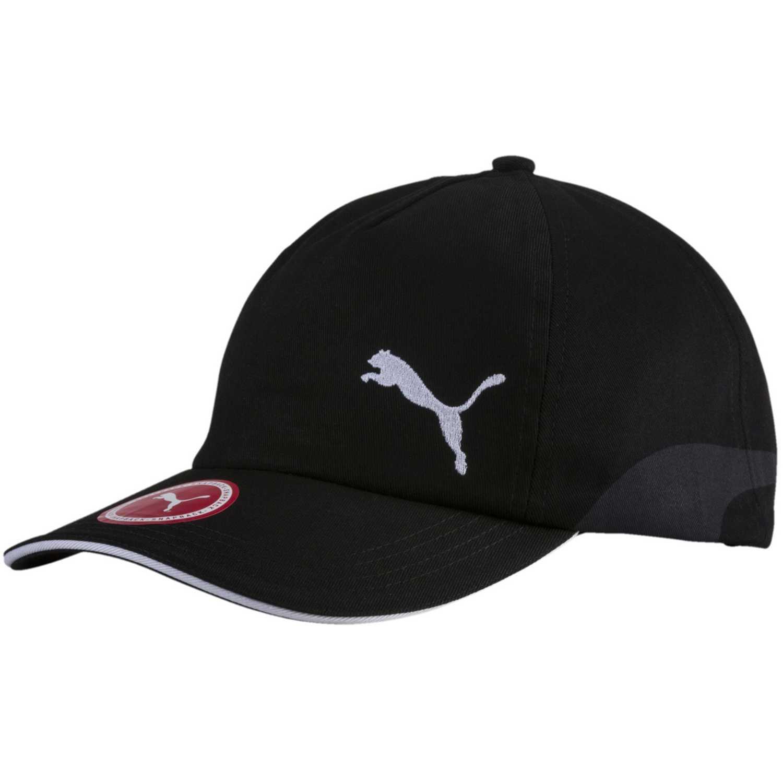 Gorro de Hombre Puma Negro / blanco cap