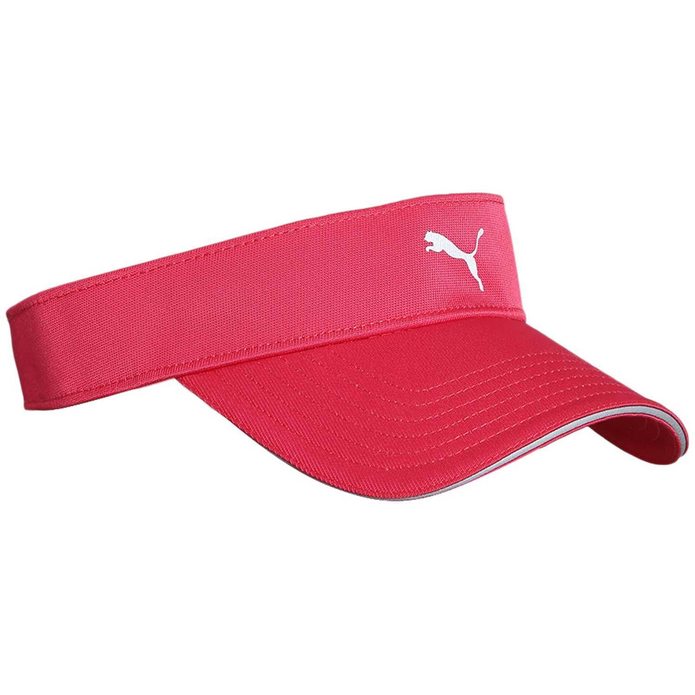 Gorro de Mujer Puma Rosado duocell tech visor ii