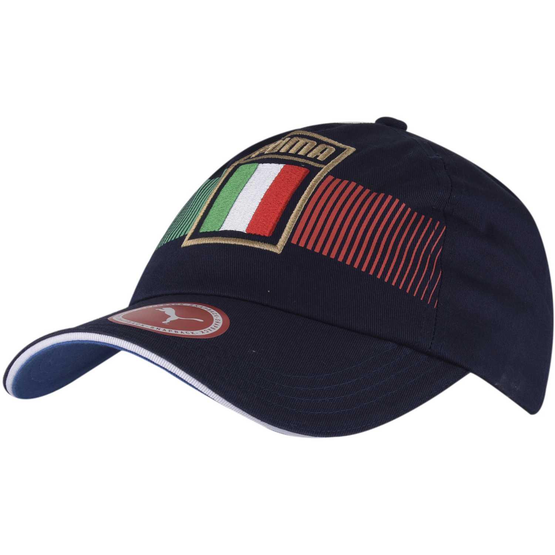 Gorro de Hombre Puma Azul / Rojo italia fan cap