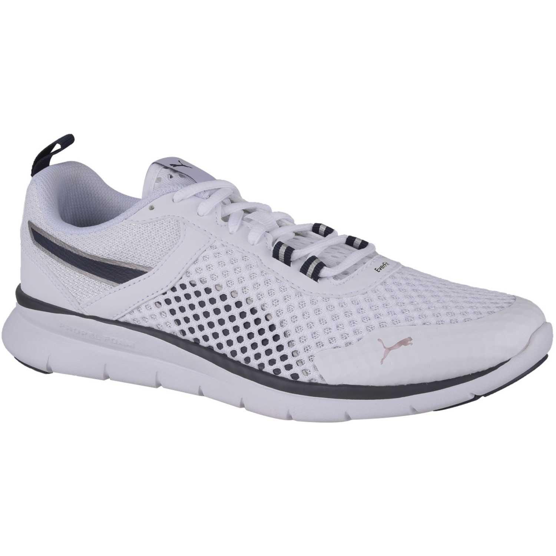 Zapatilla de Hombre Puma Blanco / gris puma flex essential pro